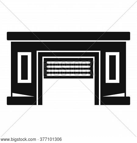 Service Car Garage Icon. Simple Illustration Of Service Car Garage Vector Icon For Web Design Isolat