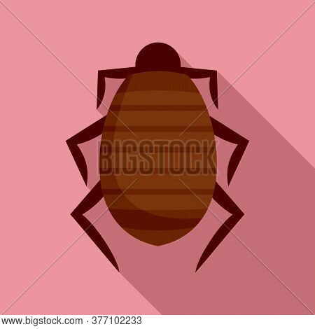 Mite Icon. Flat Illustration Of Mite Vector Icon For Web Design