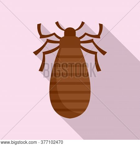 Pest Bug Icon. Flat Illustration Of Pest Bug Vector Icon For Web Design