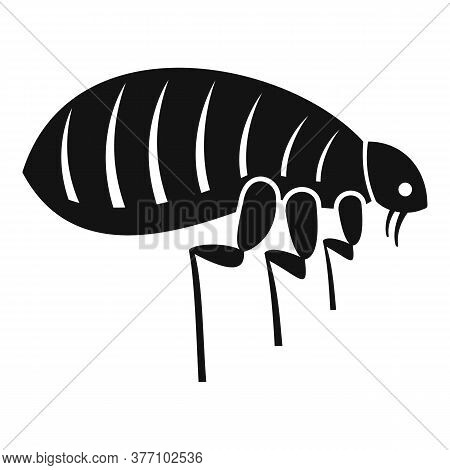 Parasite Bug Icon. Simple Illustration Of Parasite Bug Vector Icon For Web Design Isolated On White