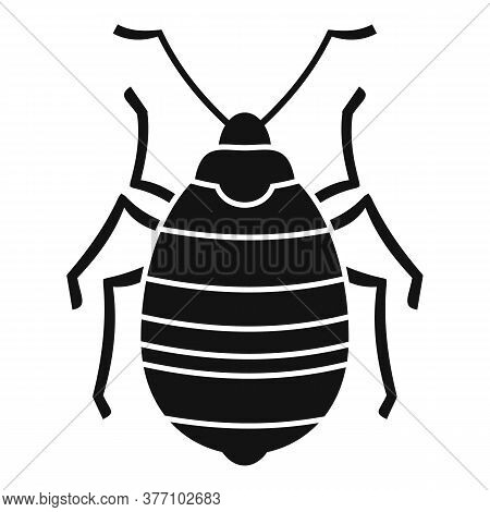 Bug Insect Icon. Simple Illustration Of Bug Insect Vector Icon For Web Design Isolated On White Back