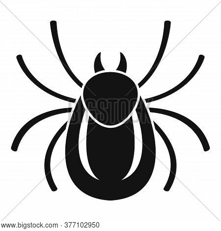Forest Bug Icon. Simple Illustration Of Forest Bug Vector Icon For Web Design Isolated On White Back