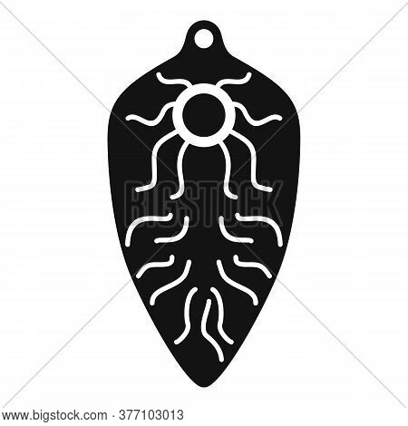 Intestinal Parasite Icon. Simple Illustration Of Intestinal Parasite Vector Icon For Web Design Isol