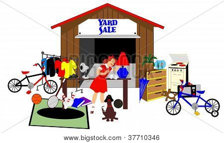 Big Yard sale