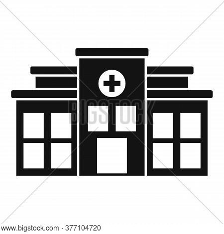 Mental Disorder Clinic Icon. Simple Illustration Of Mental Disorder Clinic Vector Icon For Web Desig