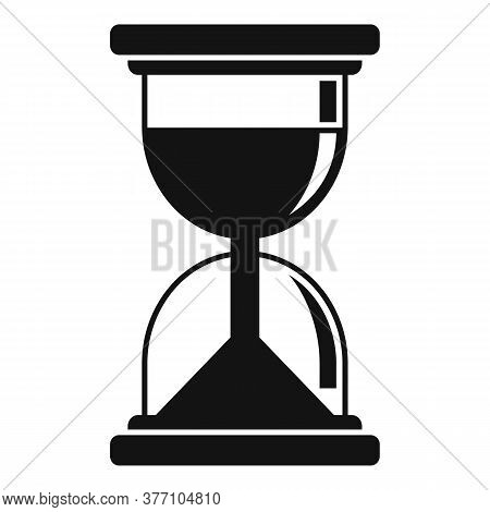 Hypnosis Hourglass Icon. Simple Illustration Of Hypnosis Hourglass Vector Icon For Web Design Isolat