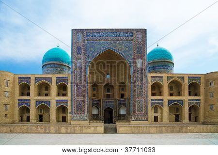 Miri Arab Madrassah In Bukhara