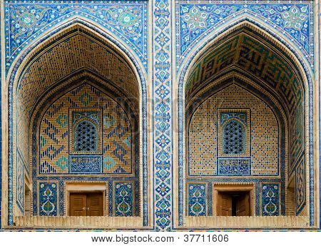 Ulugh Beg Madrassah In Samarkand