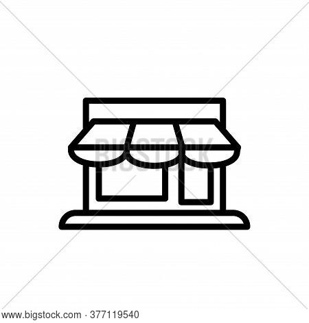 Illustration Vector Graphic Of Store Icon Template