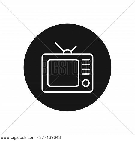 Television Icon Isolated On White Background. Television Icon In Trendy Design Style For Web Site An