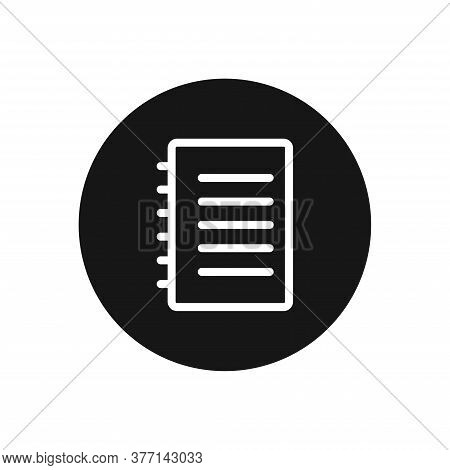 Notebook Icon Isolated On White Background. Notebook Icon In Trendy Design Style For Web Site And Mo