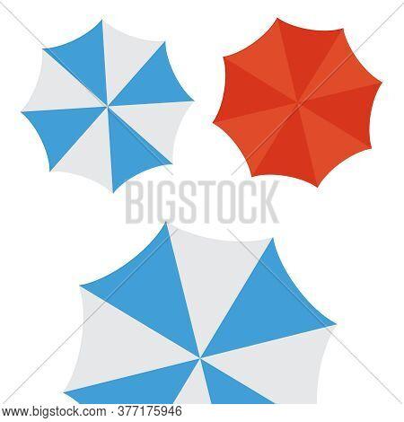 Umbrella Icons. Umbrella Vector Protective Drop Icons