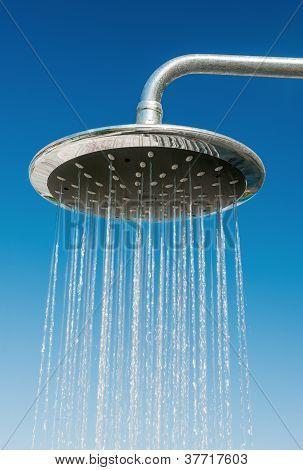 Outdoors Shower