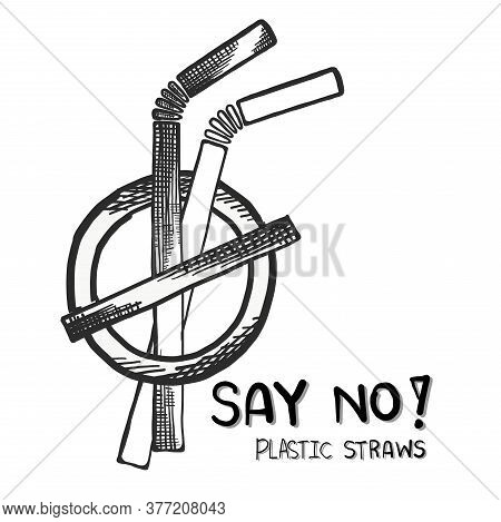 Say No Disposable Plastic Drinking Straws In Favor Of Reusable Metallic Drinking Straw
