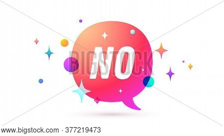 No. Speech Bubble. Set Of Chat Message, Cloud Talk, Speech Bubble. White Speech Bubble, Cloud Talk I