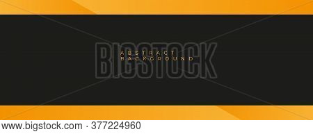 yellow and black background design . abstract yellow background design for business . yellow background vector illustration . modern yellow and black background template . abstract background with yellow and black color design