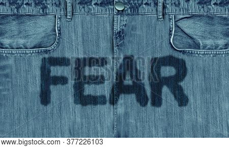 Fear Psychology And Being Frightened With Extreme Feelings Of Fight Or Flight Anxiety And Terrified