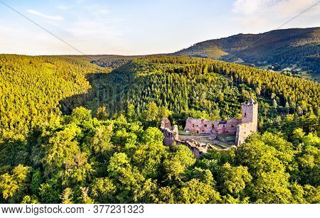 Castle Of Wangenbourg In The Vosges Mountains - Bas-rhin, Alsace, France