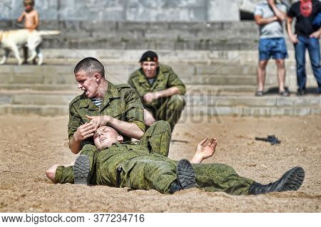 Demonstrative Performance Of The Marine Corps