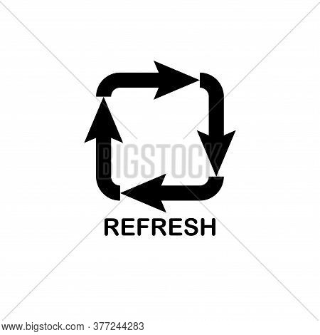 Illustration Vector Graphic Of Refresh Icon Template