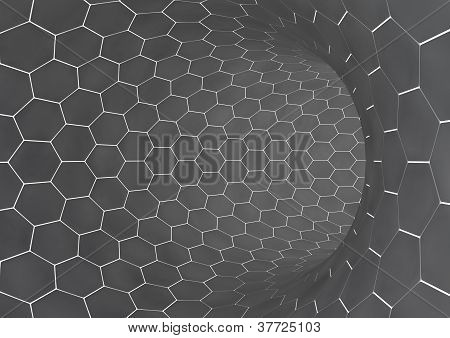 Abstract background image of grey tiles