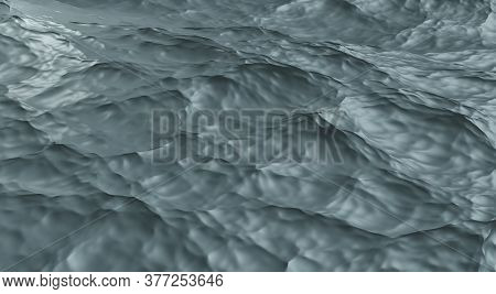 Aerial View With Ocean Wave Background Blue Ocean Waves Abstract Sea Movement Dark Tones Give A Powe