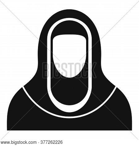 Dubai Avatar Woman Icon. Simple Illustration Of Dubai Avatar Woman Vector Icon For Web Design Isolat