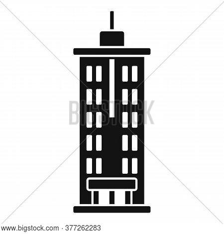 Dubai Tower Icon. Simple Illustration Of Dubai Tower Vector Icon For Web Design Isolated On White Ba
