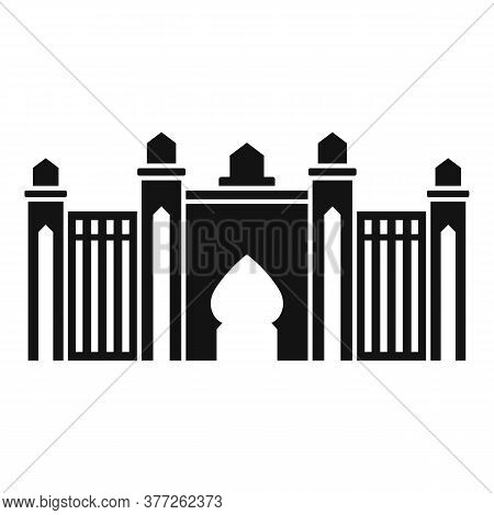 Dubai Mosque Icon. Simple Illustration Of Dubai Mosque Vector Icon For Web Design Isolated On White