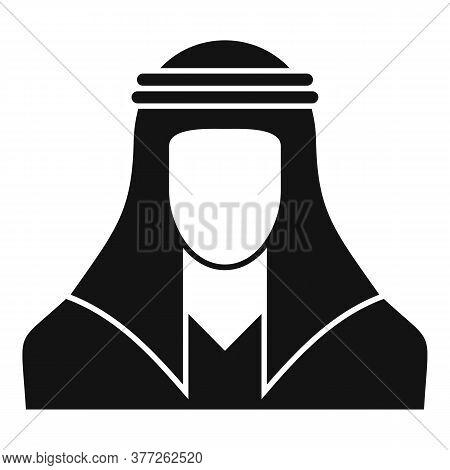 Dubai Arabic Man Icon. Simple Illustration Of Dubai Arabic Man Vector Icon For Web Design Isolated O