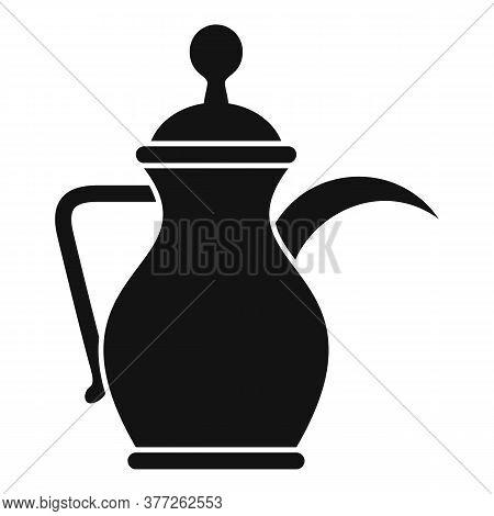 Arabic Coffee Pot Icon. Simple Illustration Of Arabic Coffee Pot Vector Icon For Web Design Isolated