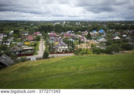 Panoramic View Of The Pereslavl-zalessky, Russia. Golden Ring Of Russia.