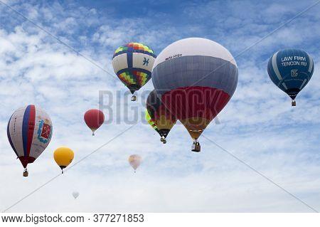Pereslavl-zalessky, Yaroslavl Region, Russia, - July 19, 2020: 19 - Aeronautics Festival Golden Ring