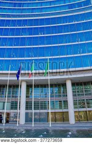 Milan, Italy - December 5: Palazzo Lombardia In Milan On December 5, 2013, This Building, Inaugurate
