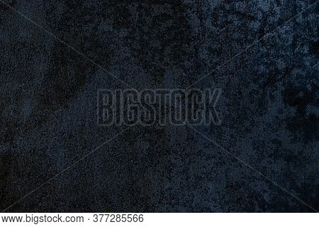 Zinc Metal Texture. Metal Wall Pattern. Dark Steel Plate Texture For Iron Sheet Material Background.