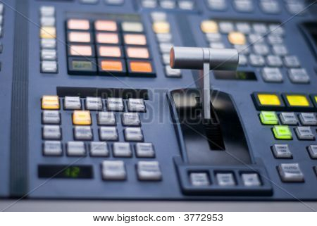Broadcast Switcher Fader Bar