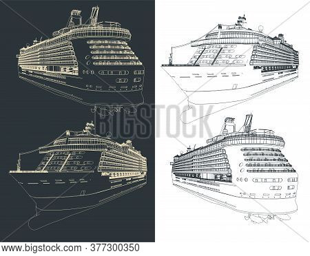 Cruise Ship Blueprints