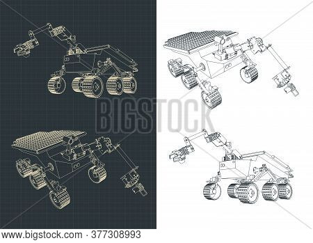 Mars Rover Blueprints
