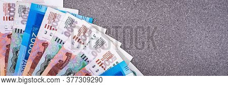 Russian Money, One Thousand Rubles, Two Thousand Rubles, Five Thousand Rubles, Background Image, Bil
