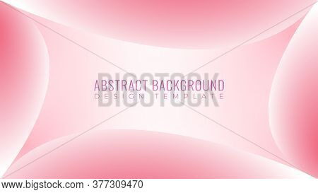 Colorful Soft Abstract Background Design Template. Beautiful Pinky Frame Vector Illustration. Soft B