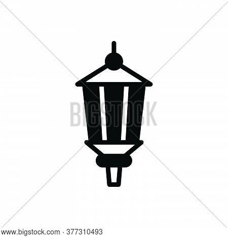Black Solid Icon For Lamp-post Lamp Post Ancient Antique Lantem Light Street Architecture