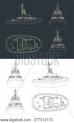 Tugboat Blueprints