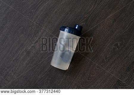 Plastic Sport Shaker Bottle Isolated, Sport Nutritions For Athlete