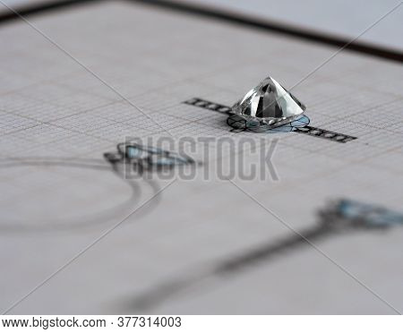 Diamond Jewelry Design And Production. Craft Jewelery Making