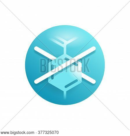 Paraben Free Glossy Icon - Stamp For Packagings Of Products With Unavailability Of Harmful Component