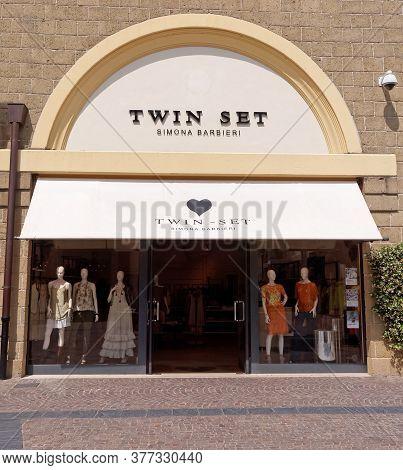 Rome, Italy - July 27, 2015. Twin-set Simona Barbieri Store In Rome, Italy. Twin-set Simona Barbieri