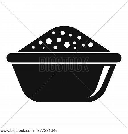 Dubai Food Bowl Icon. Simple Illustration Of Dubai Food Bowl Vector Icon For Web Design Isolated On