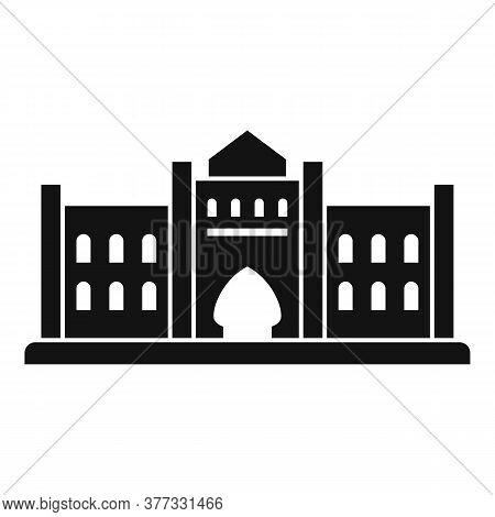 Dubai Historical Building Icon. Simple Illustration Of Dubai Historical Building Vector Icon For Web