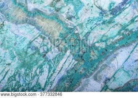 cyan jasper texture macro photo