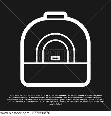 Black Oven Icon Isolated On Black Background. Stove Gas Oven Sign. Vector Illustration